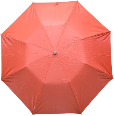 Fendo 2 fold Red Color umbrella _400114_K Umbrella(Orange)