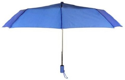 Beaut Mono Silver B015943 - Royal Blue, 3 Fold Umbrella