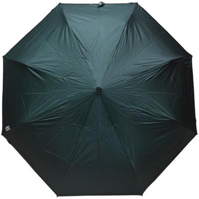 Murano 3 Fold Auto Open Black Color Golden Handle Stylish _400102_A Umbrella