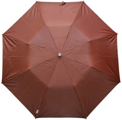 Fendo 2 fold brown women umbrella_400114_G Umbrella