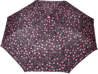 FabSeasons Abstract Print Umbrella(Black)