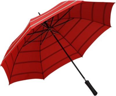 TELLO Single Fold Stripes Red Umbrella