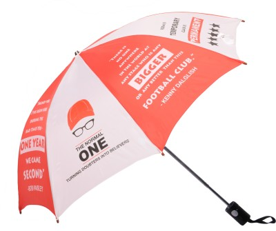 Invezo Impression Invezo Impression Red Liverpool 3 fold Automatic Umbrella Umbrella