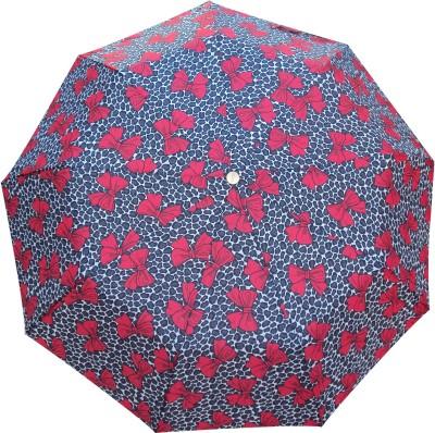 Monsoon 3 Fold Automatic Open Umbrella