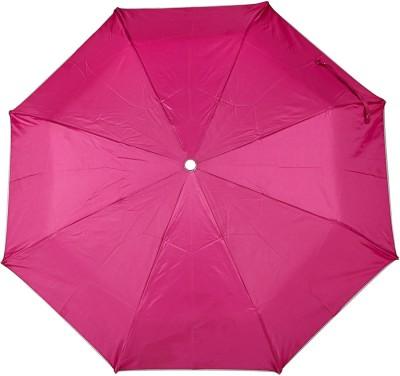 ZARSA 3 Fold Pink Umbrella