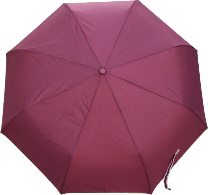 Hsyx 3 Fold Automatic Open Umbrella(Maroon)