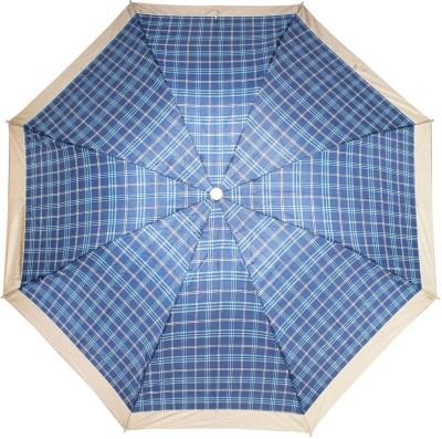 PeepalComm 3 Fold Printed 8 Stick Umbrella