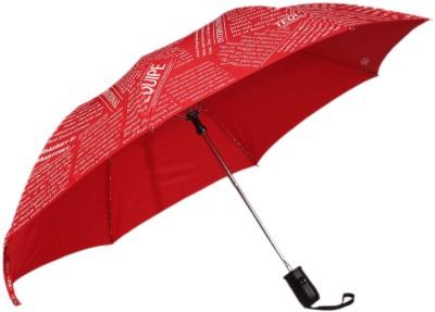 Tello 2 Fold paper Print Red Umbrella