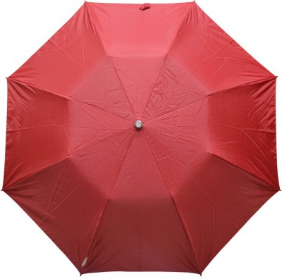 Fendo 2 fold Red Color women umbrella _400114_I Umbrella(Multi)