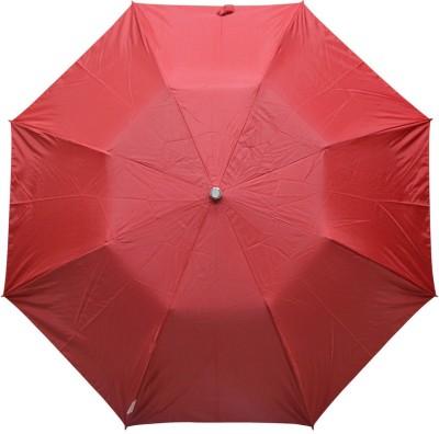 Fendo 2 fold Red Color women umbrella _400114_I Umbrella