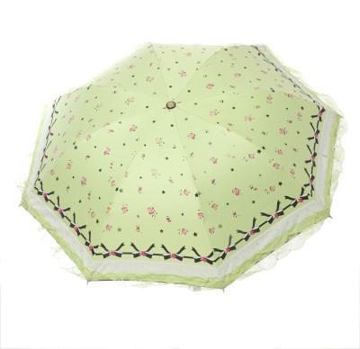 Modish Vogue UM_NET FRILL_GREEN Umbrella