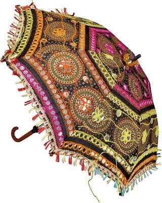 Lal Haveli Embroidery Work Summer Designer Umbrella