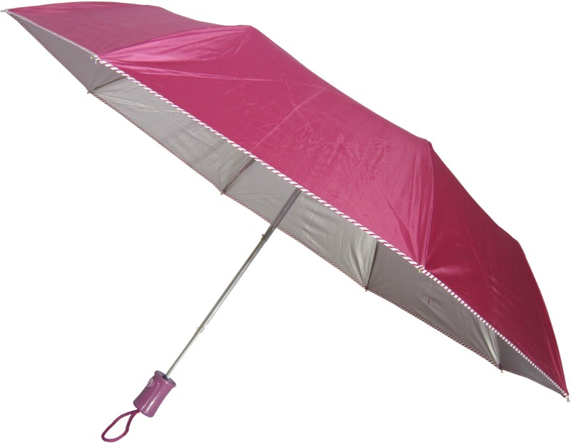 Fendo Avon kareena_D 3 Fold maroon color Umbrella(Maroon Color)