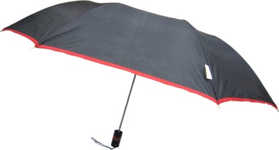 Fendo Avon passion_D 2 Fold black color Umbrella(Black Color)