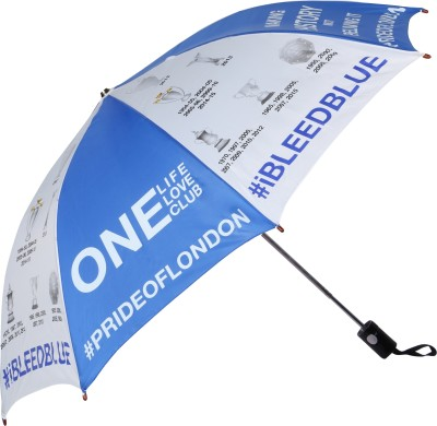 Invezo Impression Invezo Impression Blue Chelsea 3 fold Automatic Umbrella Umbrella