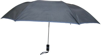 Fendo Avon passion_C 2 Fold black color Umbrella(Black Color)