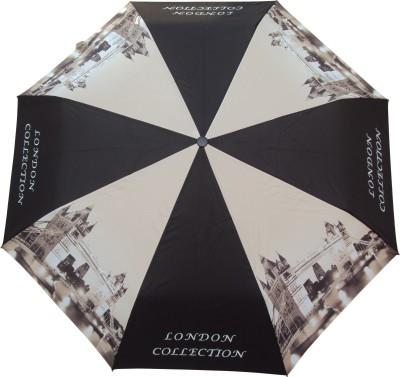 Susino 3 Fold Automatic Open London City Collection Umbrella