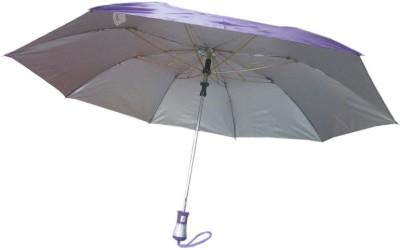 Fendo Auto Open 2 Fold Nylon Women Strawberry _e Umbrella