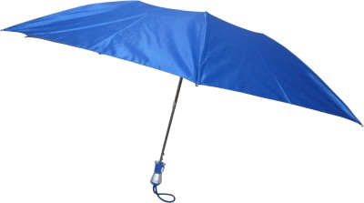 Fendo Avon Lisa_A 2 Fold blue color Umbrella(Blue Color)