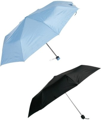 Bizarro Plain Combo-3-Fold (Set of 2) A Umbrella