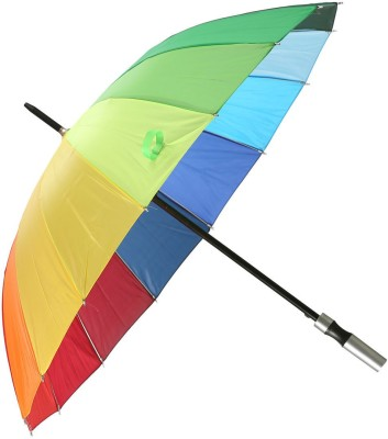 Snapshopee Rainbow Print Umbrella(Multi colour)