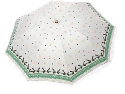 Modish Vogue UM_NET FRILL_WHITE Umbrella