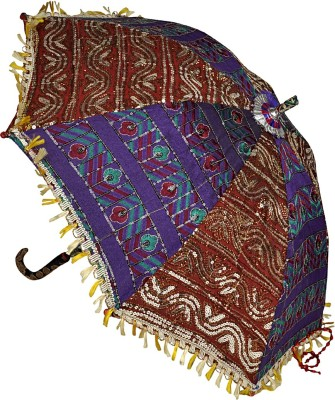Lal Haveli Handmade Cotton Sun Designer Umbrella