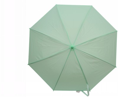 Elegance Light Green 1 Fold Plain Umbrella