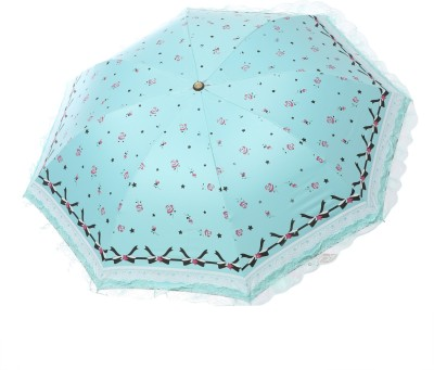 Modish Vogue UM_NET FRILL_BLUE Umbrella
