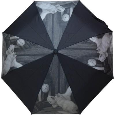 Murano 3 Fold Auto Open RST Print Design Cat on Panel 400157_E Beautiful Umbrella
