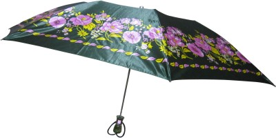 Fendo Avon kim_E 2 Fold Green color Umbrella(Green Color)