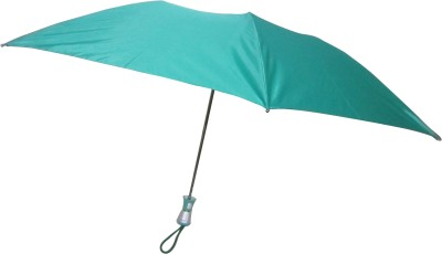 Fendo Avon Lisa_B 2 Fold Green color Umbrella(Green Color)