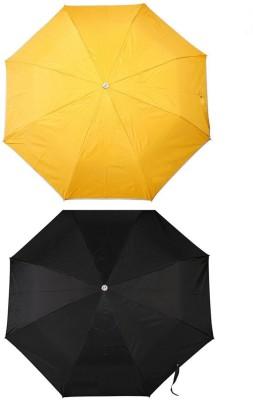 MISTOB Mist Umbrella(Black and yellow)