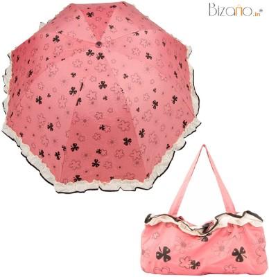 Bizarro.in BIU-7016950-POUCH-FLW-ORA Umbrella