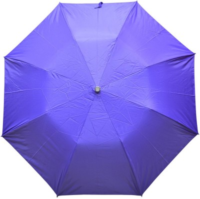 Fendo 2 fold blue color women umbrella_400114_H Umbrella
