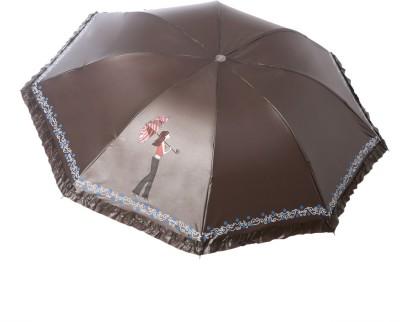 Modish Vogue UM_NEW GIRL_BROWN Umbrella