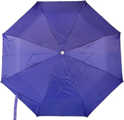 Bemoreee 3 Fold Blue Umbrella