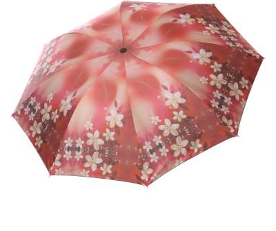 Barbarik UM_DSGN FLR_RED Umbrella