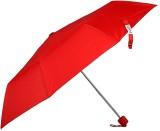 Bizarro Plain 3-Fold Umbrella (Red)