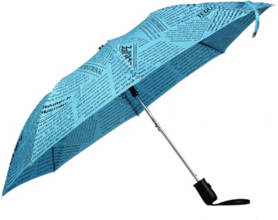 Tello 2 Fold paper Print Sky Blue Umbrella