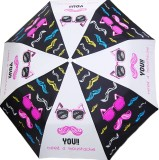 Cheeky Chunk Moustache Umbrella (Multico...