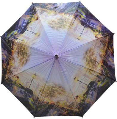 Murano Single Fold Metal Piano Windproof Multicolor Beautiful _400145_A Design Umbrella