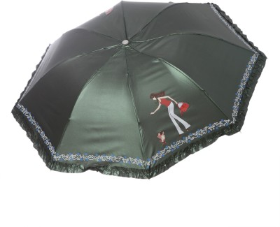 Modish Vogue UM_NEW GIRL_GREEN Umbrella