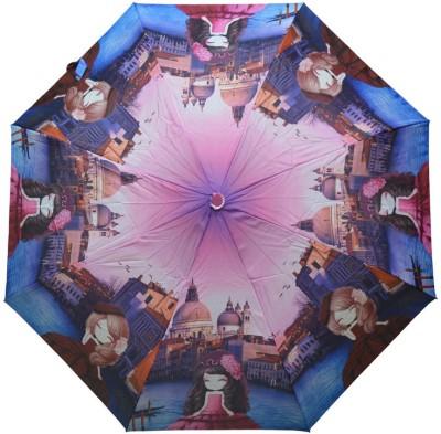 Murano 3 Fold Auto Open RST Print Design 400156_C Printed Umbrella