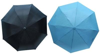 MISTOB M95 Umbrella(Firozi, Black)