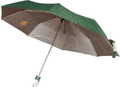 Bs Spy Pakiza Nylon Green 3 Fold Umbrella