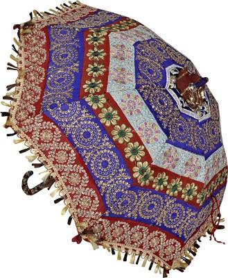 Lal Haveli Handmade Parasol Single Fold Umbrella