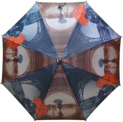 Murano Single Fold Metal Piano Windproof Multicolor Fashion _400145_F Design Umbrella