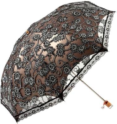 Nimble House Zero Transmittance Super Prevent Sun Compact Lace Wedding Parasol Folding UV Block Ladies Umbrella Umbrella