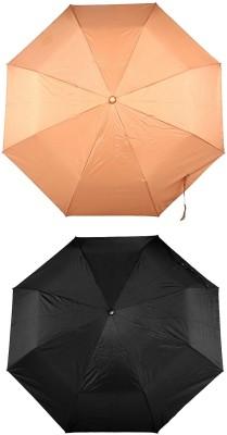 Bizarro Plain Combo-3-Fold (Set of 2) Umbrella